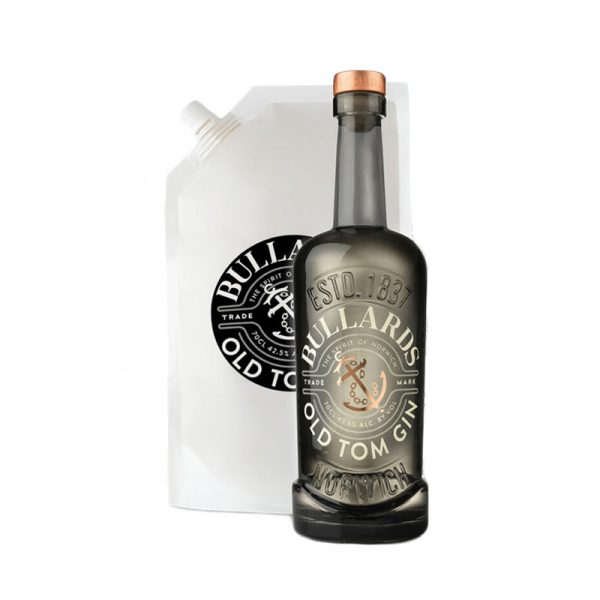 Bullards Old Tom Gin Bottle & Refill Pouch