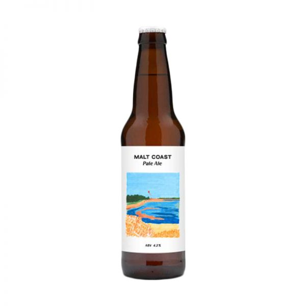 Malt Coast Pale Ale Bottle