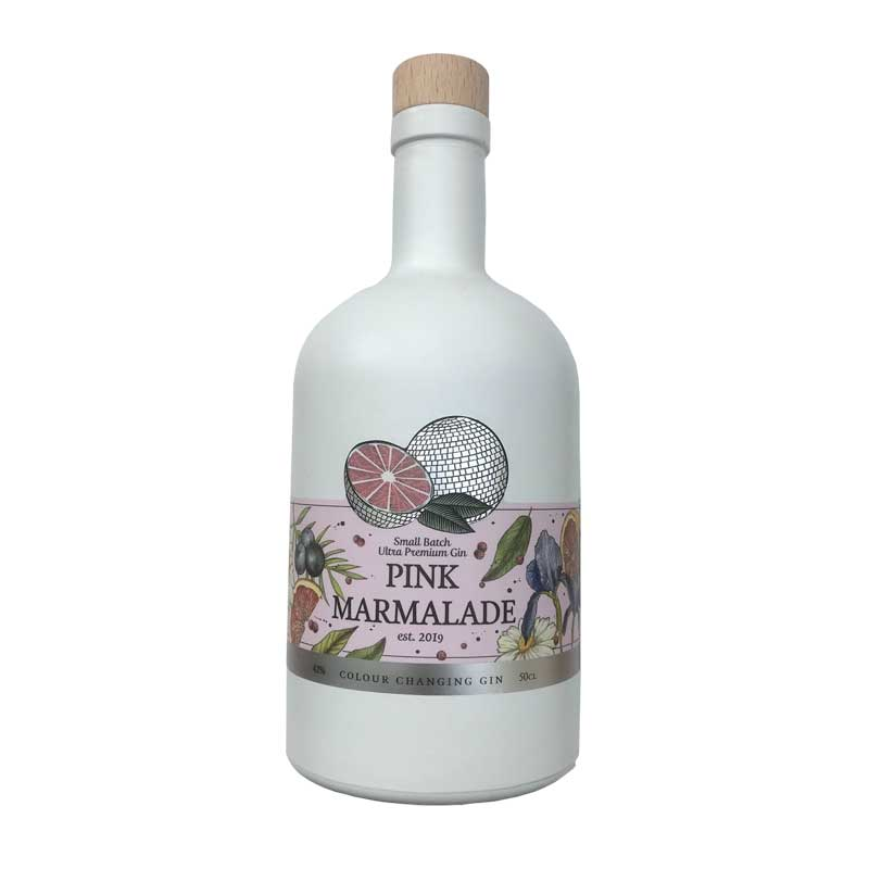 Pink Marmalade Gin 50cl bottle