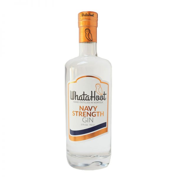 WhataHoot Navy Strength Gin