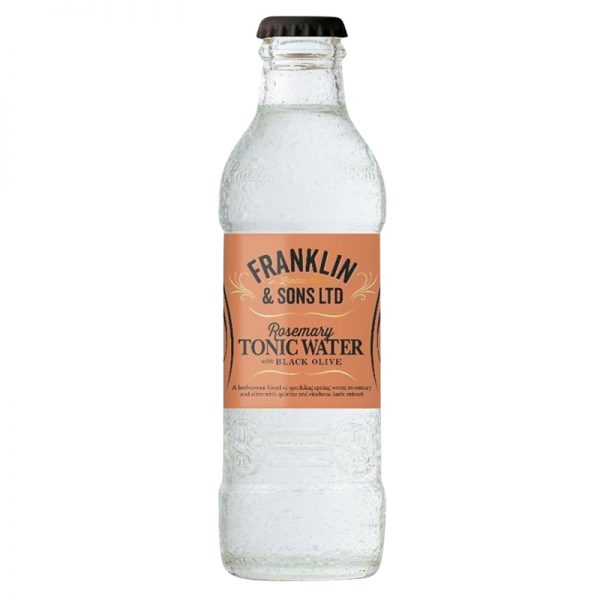 Franklin & Sons Rosemary Tonic Water With Black Olive