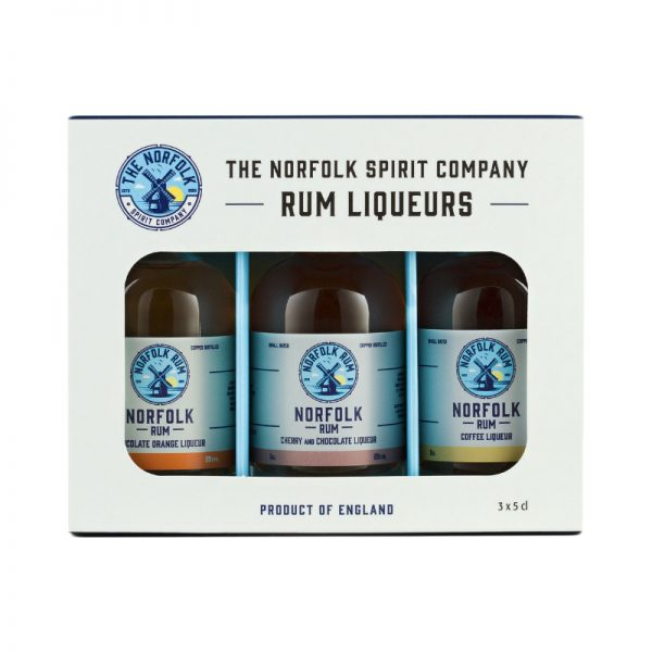 The Norfolk Spirit Company Rum Liqueurs Gift Pack