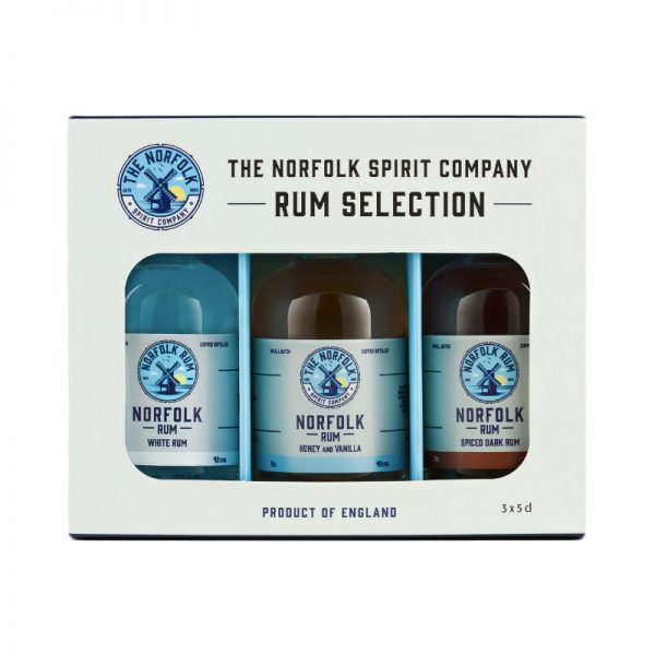 The Norfolk Spirit Company Rum Gift Pack