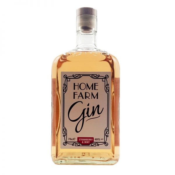Home Farm Gin Strawbery & Mint