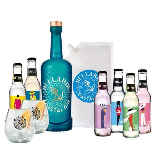 Bullards Coastal Gin & Artisan Tonics Bundle