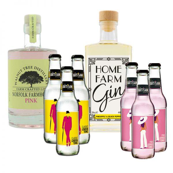 Norfolk's Summer Gin-in-a-box