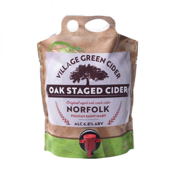 Village Green Cider Oak Staged