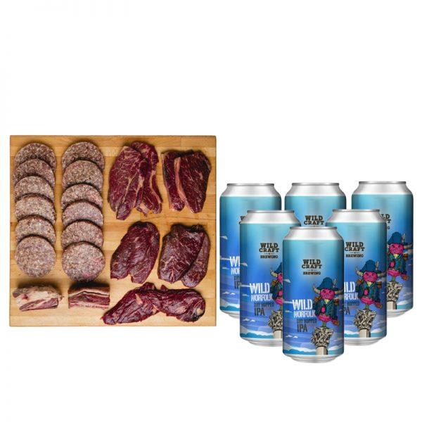 NCFC Worstead Wagyu Beef & Beer Box